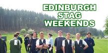 Click here to book a Stag or Hen Party weekend in Edinburgh