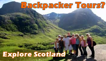 Scotland Backpacker Tours
