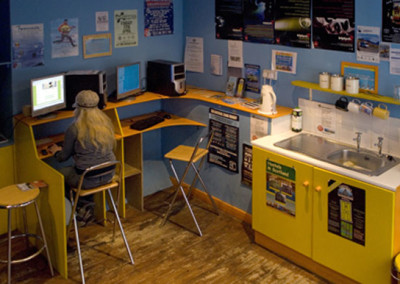 Reception and internet at Cowgate