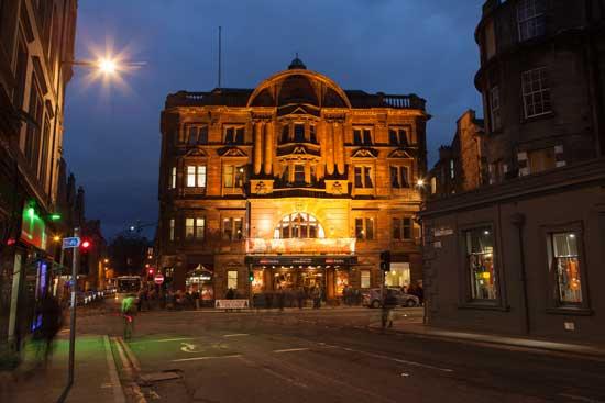 Kings Theatre Edinburgh Gilmore Place