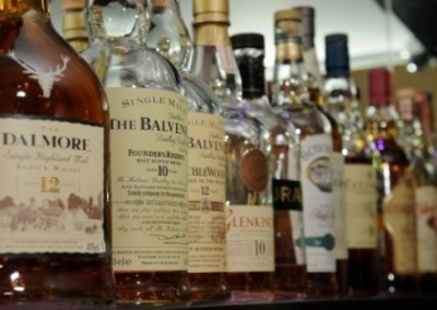 west end hotel whisky collections